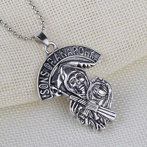Jewelry - SOA Skull Necklace